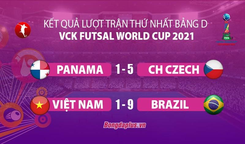 Dang cap qua khac biet, DT futsal Viet Nam thua dam Brazil-Hinh-2