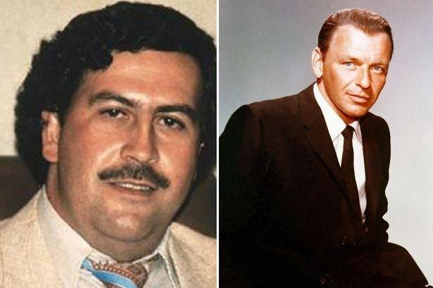 Ca si Frank Sinatra la doi tac trum ma tuy Pablo Escobar