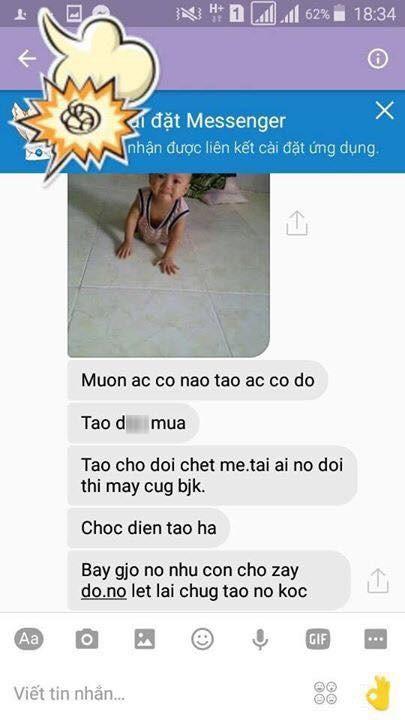 Su that sau anh chong bao hanh con 1 tuoi gui cho vo