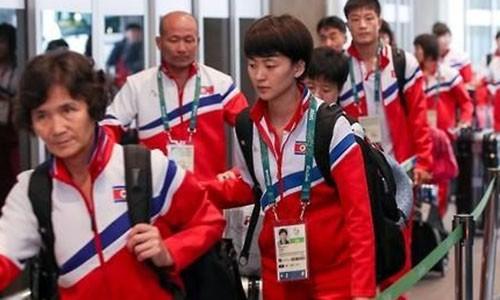 VDV Trieu Tien bi phat di lam than vi that bai tai Olympic