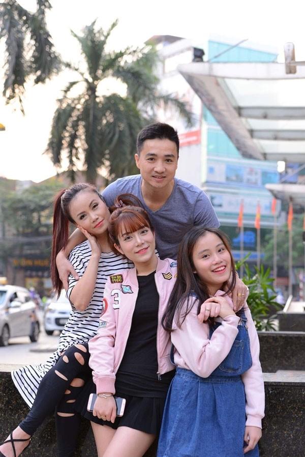 Dien vien Hoang Yen bat ngo co tin vui voi nguoi chong thu 4-Hinh-2