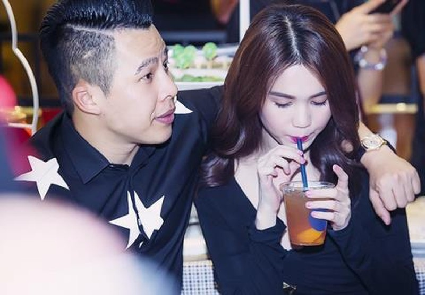 "Lo bang chung hiem hoi ""to"" Ngoc Trinh - Khac Tiep yeu nhau?-Hinh-2"