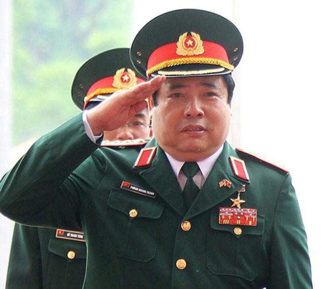 Tong Bi thu truc tiep tham Dai tuong Phung Quang Thanh