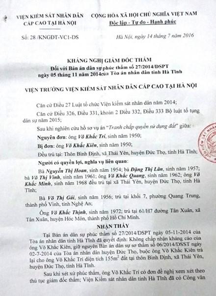 Ha Tinh Khang nghi giam doc tham vu Em trai de truoc anh ruot