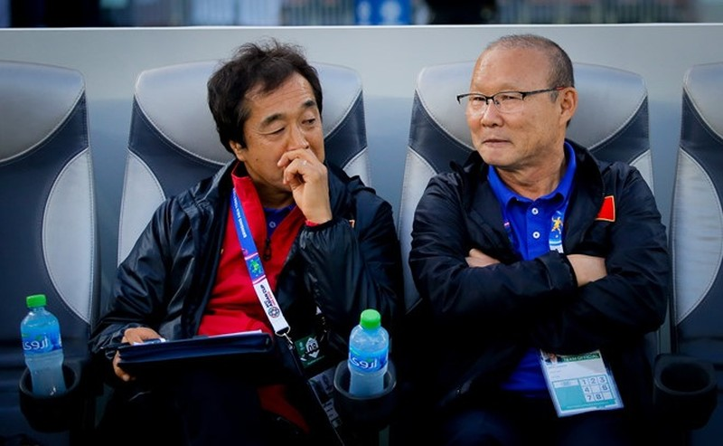 HLV Park Hang-seo dan dat U22 Viet Nam tham du SEA Games 2019