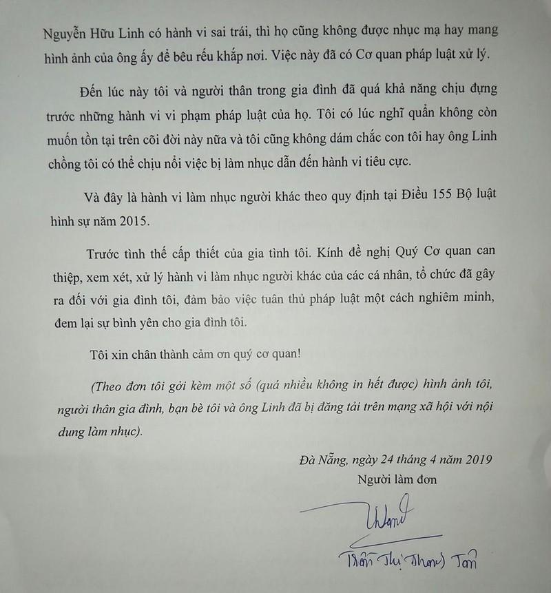 Vo ong Nguyen Huu Linh rut don to viec bi lam nhuc-Hinh-2