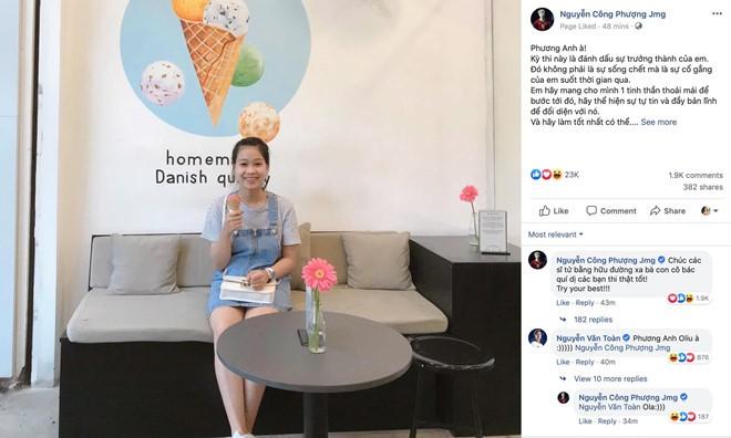 Cong Phuong nhan nhu em gai truoc ky thi THPT 2019-Hinh-2