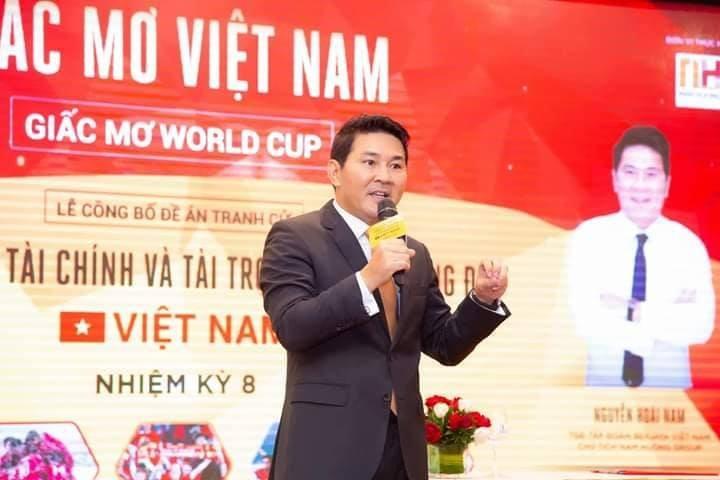 Vi sao doanh nhan Nguyen Hoai Nam duoc bau Duc de cu lam Pho chu tich VFF?