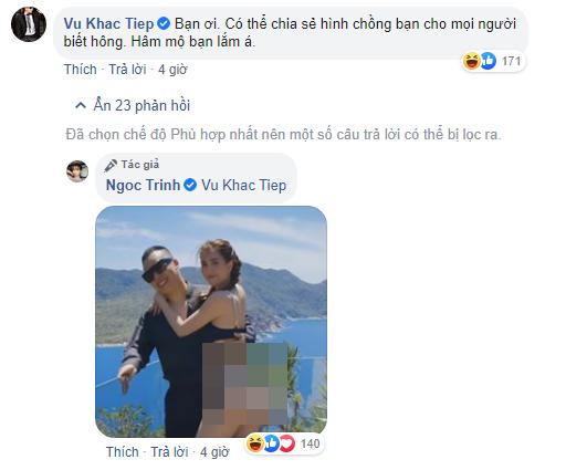 Ngoc Trinh bat ngo thong bao co chong, phan ung cua Vu Khac Tiep gay chu y-Hinh-2