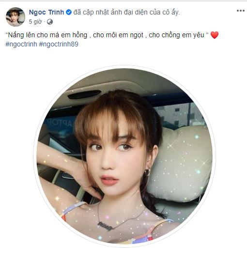 Ngoc Trinh bat ngo thong bao co chong, phan ung cua Vu Khac Tiep gay chu y
