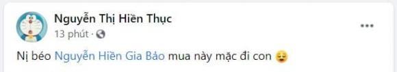 Hien Thuc khuyen con thu mac mot quan ho bao con tuyen bo: 'mac dep, me tai tro mua do suot doi'