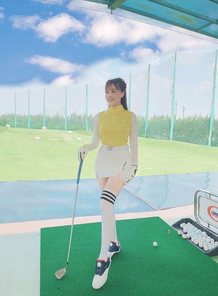 Thoi trang choi golf cua my nhan Viet co gi dac biet, khac la?-Hinh-3
