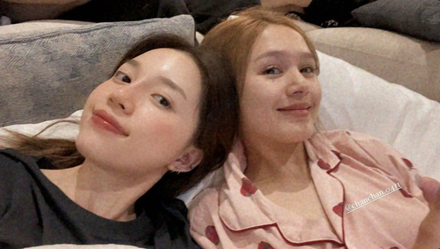 Xoai Non do sac cung Linh Ngoc Dam khi make-up theo trend-Hinh-3
