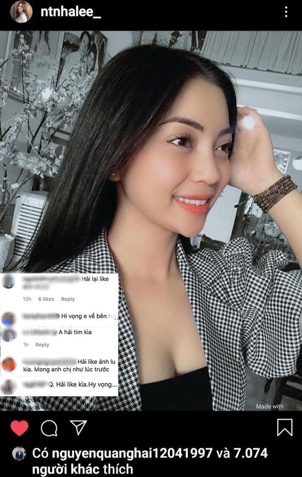 Dieu la chung to Quang Hai da quay lai voi tinh cu Nhat Le?
