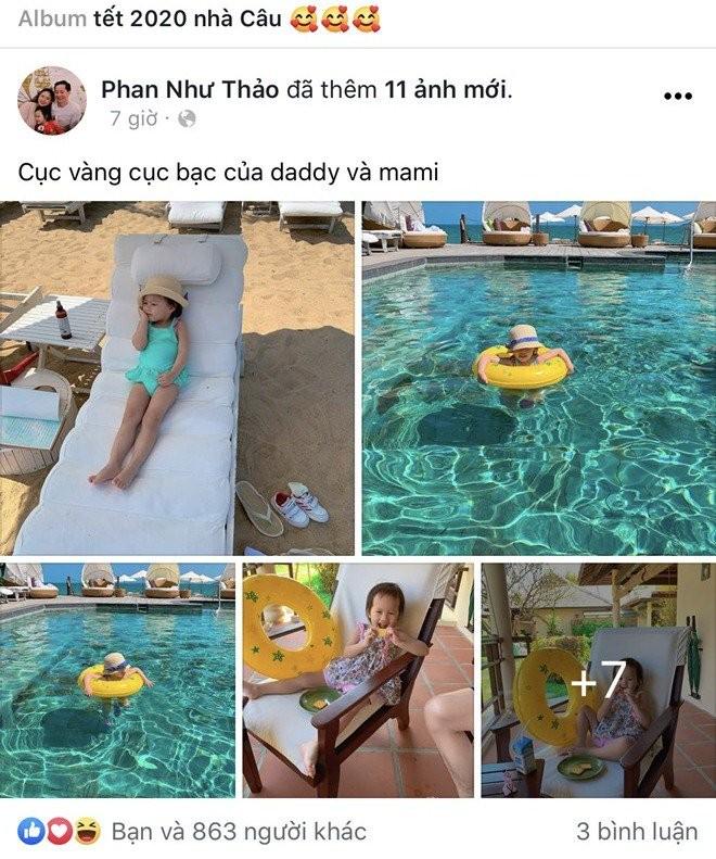 Sao viet dip Tet 2020: Vo chong Xuan Lan di My lam tiec bao hy, Trang Tran sang Uc gap ong xa-Hinh-17