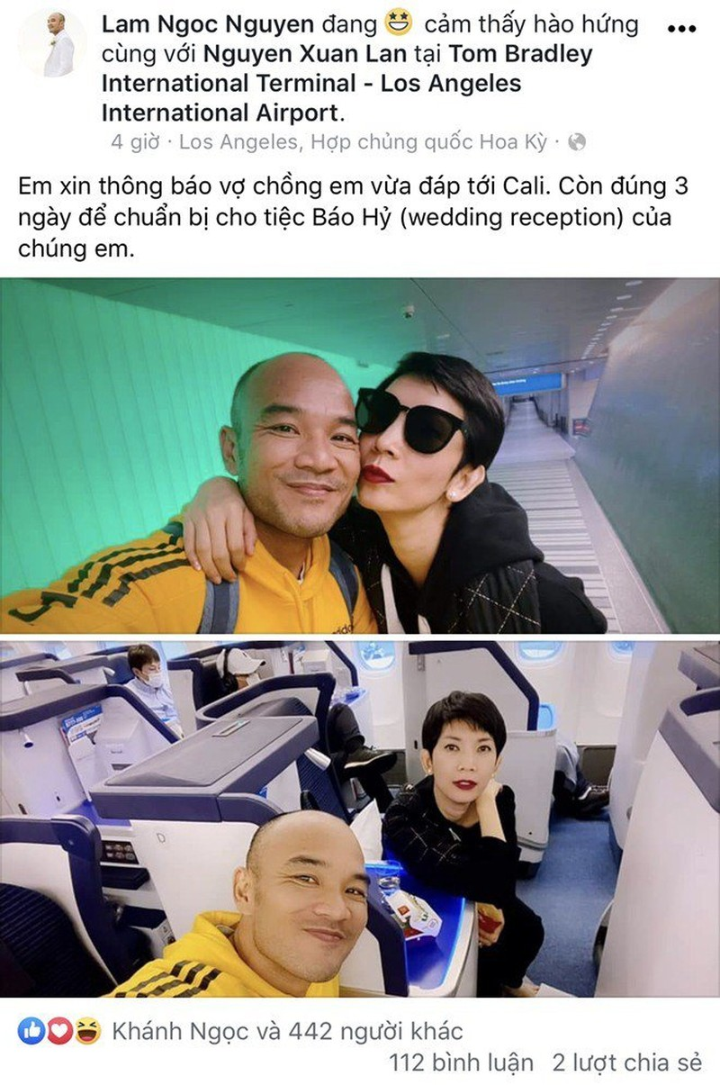Sao viet dip Tet 2020: Vo chong Xuan Lan di My lam tiec bao hy, Trang Tran sang Uc gap ong xa-Hinh-5