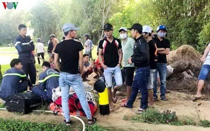Quang Nam: Vot duoc thi the nguoi cuop tiem vang roi nhay song tron thoat