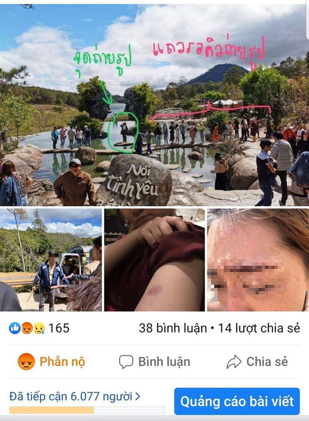 """Gianh nhau cho """"song ao"""", du khach Thai Lan"""