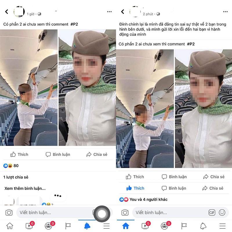 Bi don lo clip nong, tiep vien hang khong Bamboo Airways len tieng-Hinh-2