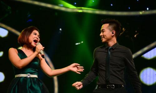 Ha Nhi dung buoc tai Gala 6 Vietnam Idol 2015-Hinh-3
