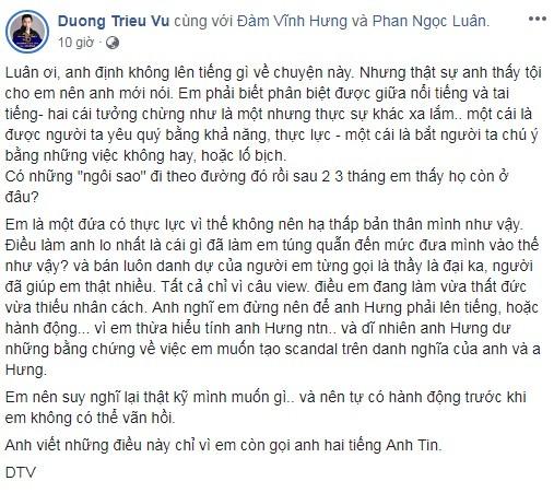 """Duong Trieu Vu mang Phan Ngoc Luan: """"Vua that duc vua thieu nhan cach""""-Hinh-2"""