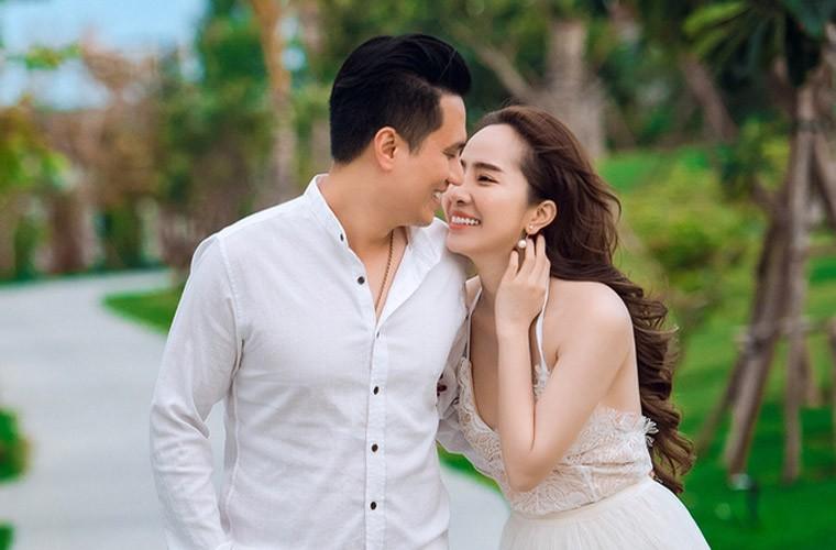 """Quynh Nga – Viet Anh lo anh """"tinh be binh"""" du phu nhan yeu-Hinh-2"""