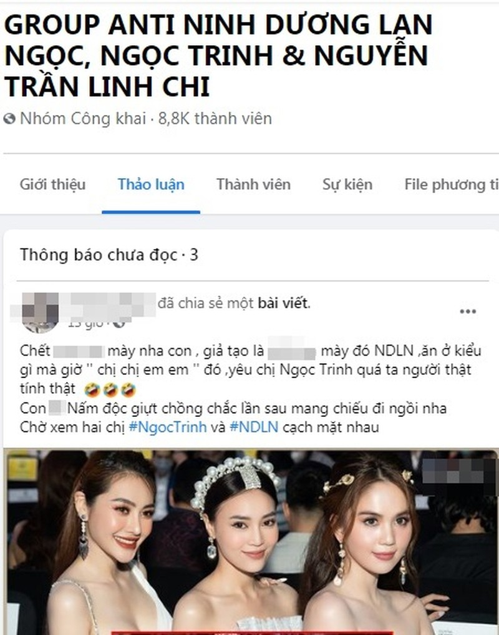Tay chay sao Viet: Su phan no cua antifan hay muu do truc loi?