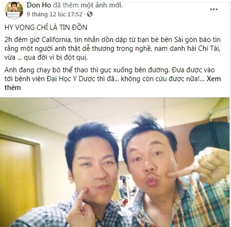 Don Ho tiet lo me vo nghe si Chi Tai rat chieu con re-Hinh-2