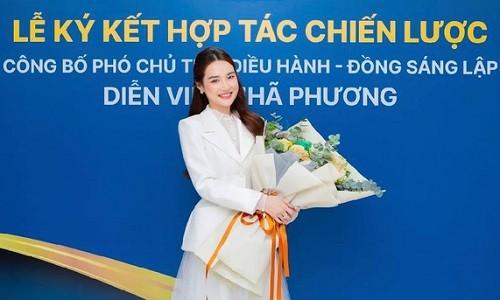 Lo anh Nha Phuong la Pho Chu tich cong ty doanh thu 1,5 ty/ thang
