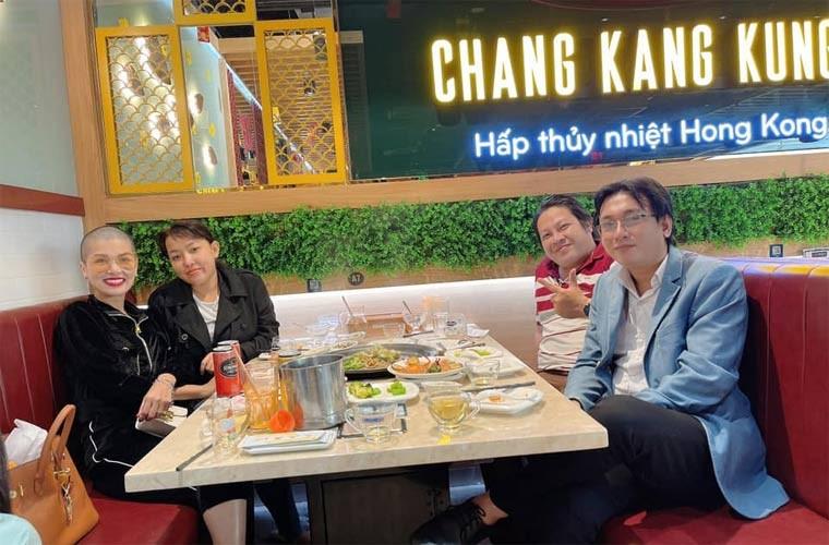 Nhan sac Hoa hau 6 con Oanh Yen khi cao dau troc loc-Hinh-8