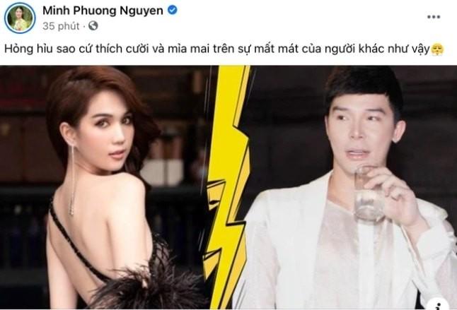 """Ngoc Trinh - Nathan Lee khau chien tren mang: """"An mieng tra mieng""""... cung do?-Hinh-2"""
