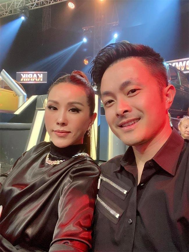 Cuoc tinh 6 nam cua Hoa hau Thu Hoai va chong kem 10 tuoi-Hinh-6