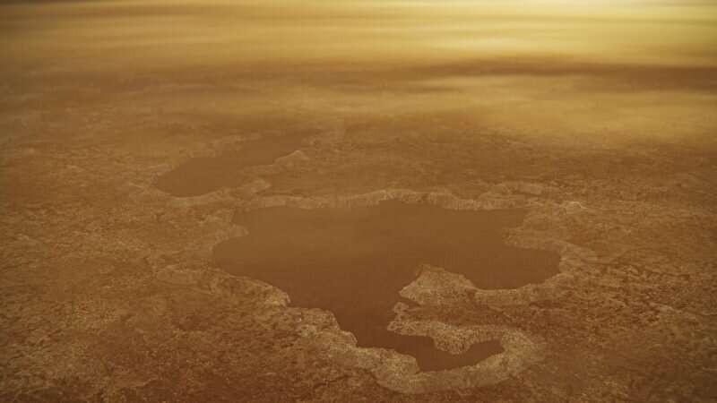 Ly giai cach bong bong phun trao trong ho tren Titan sao Tho