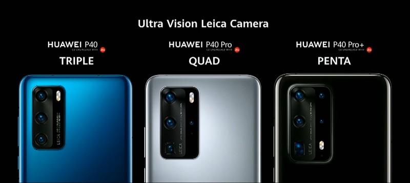 Camera Huawei P40 Pro vuot mat S20 ultra, 11 Pro max ve thong so