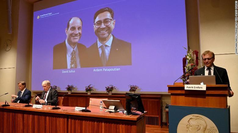 Hanh trinh 2 nha khoa hoc bat ngo doat giai Nobel Y hoc 2021