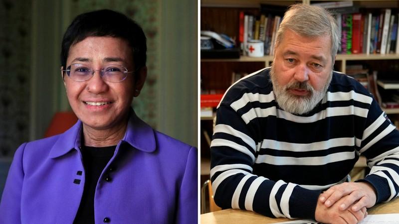 Bi mat it biet ve hai nha bao doat giai Nobel Hoa binh 2021-Hinh-2