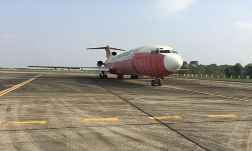 May bay Boeing vo chu o Noi Bai duoc ban voi gia sat vun?