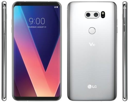 Lo anh bao chi chinh thuc LG V30