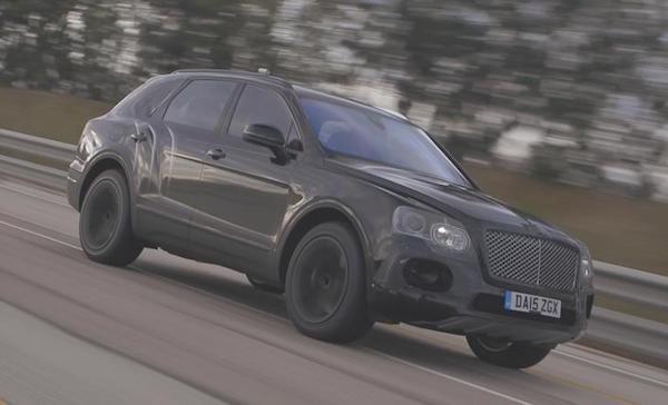 SUV Bentley Bentayga co the dat van toc 301 km/h