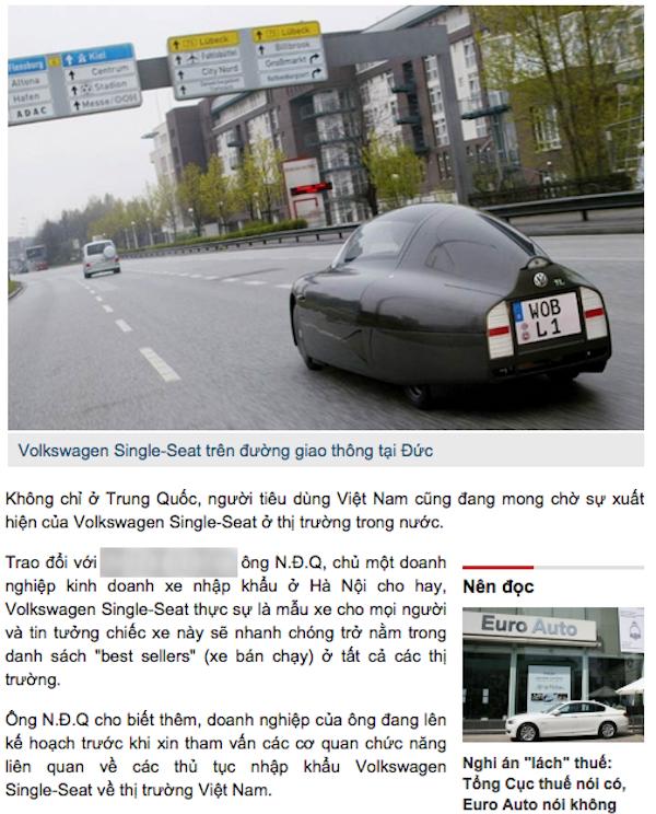"""Xe Volkswagen 1 cho gia 13,5 trieu dong chi la """"tin vit""""-Hinh-2"""