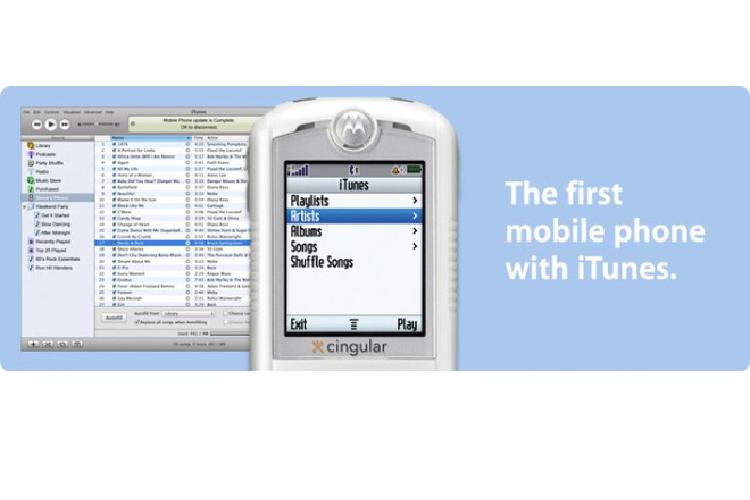 Motorola ROKR E1 - chiec dien thoai mo duong cho iPhone