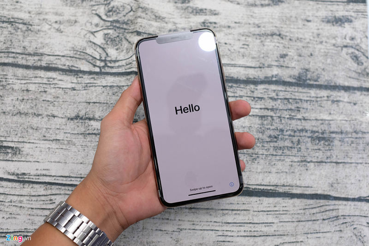 Mo hop iPhone 11 Pro Max dau tien ve VN, the gioi chua ban-Hinh-5