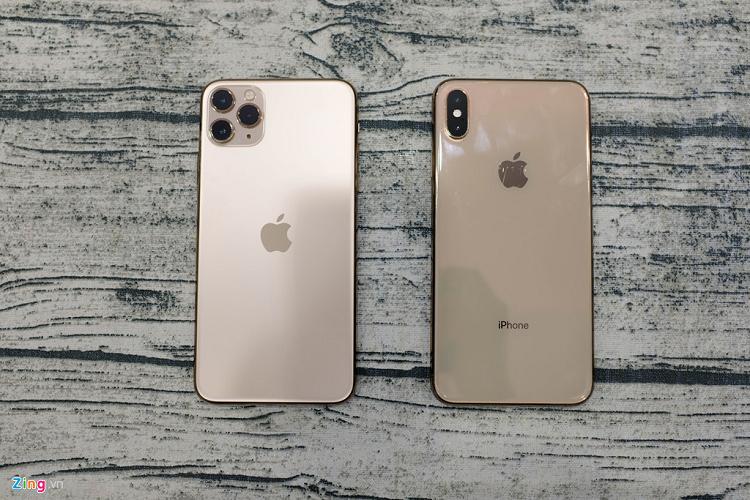Mo hop iPhone 11 Pro Max dau tien ve VN, the gioi chua ban-Hinh-6