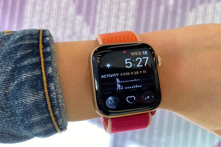 Apple Watch Series 5 co vi xu ly giong het Series 4