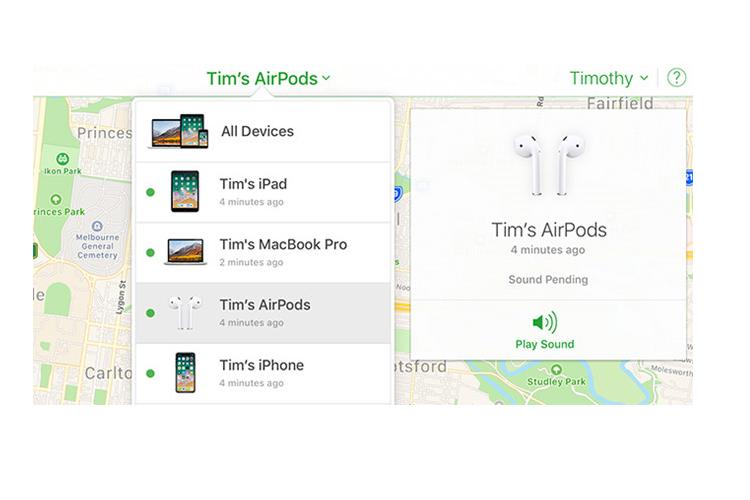 Cach xu ly loi thuong gap tren Apple Airpods