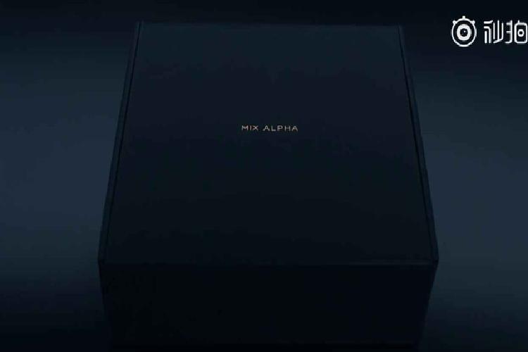 Mo hop Xiaomi Mi Mix Alpha voi thiet ke