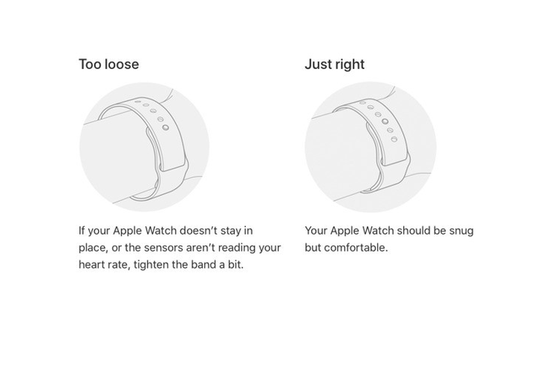 Apple huong dan nguoi dung cach deo Apple Watch