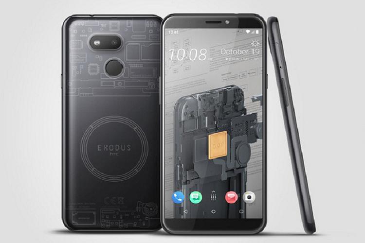 HTC vua ra mat smartphone blockchain, gia chi 244 USD-Hinh-2