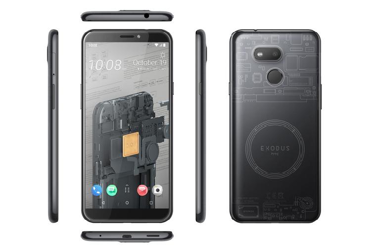 HTC vua ra mat smartphone blockchain, gia chi 244 USD-Hinh-3