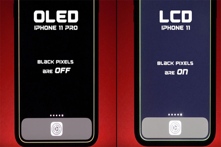 Smartphone man OLED su dung duoc lau hon bao nhieu Dark Mode?